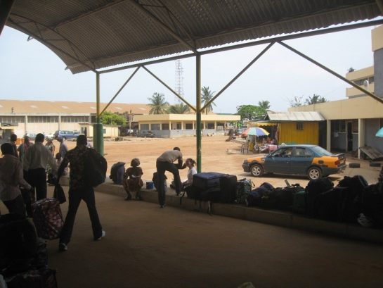 STC station in Accra - photo cred: Spencer Bain